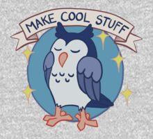 Make Cool Stuff owl emblem One Piece - Long Sleeve
