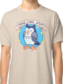 Make Cool Stuff owl emblem Classic T-Shirt