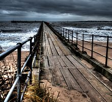 Blyth South Pier by Andrew Pounder