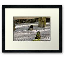 Zen-ness Framed Print