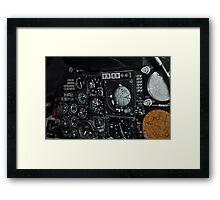 Cockpit Framed Print