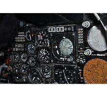 Cockpit Photographic Print