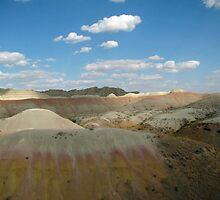 Badlands Beauty In Color by Jens  Larsen