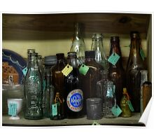 Collectible Bottles Poster