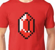 Red Pixel Rupee - The Legend of Zelda Unisex T-Shirt