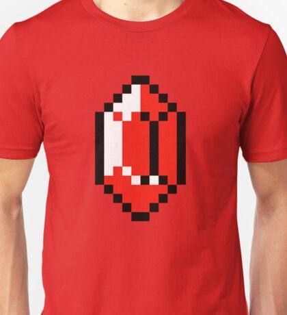 Red Pixel Rupee - The Legend of Zelda Unisex T-Shirt