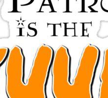 Kyuubi Patronus Sticker