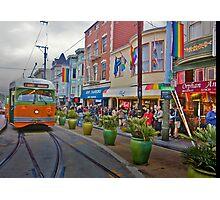 Castro Line on 17th Photographic Print