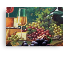 The Hermit and the Grape  Canvas Print