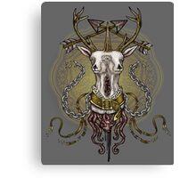 Deer Beast Canvas Print