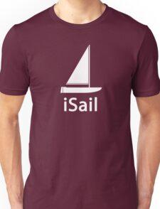 iSail WHITE Unisex T-Shirt