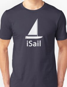 iSail WHITE T-Shirt