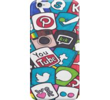 Social Media Collage iPhone Case/Skin