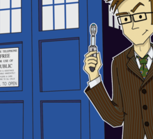 Doctor Who Animated Sticker