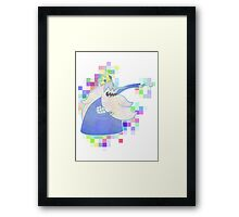 Ice king Framed Print