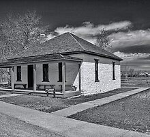 Ft. Bridger Guardhouse 1888 - 1890  by Brenton Cooper