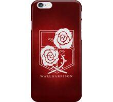 Attack on Titan - Wall Garrison Phone Case v2 iPhone Case/Skin