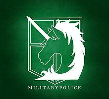Attack on Titan - Military Police Phone Case v2 by cplravioli