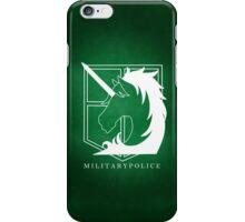 Attack on Titan - Military Police Phone Case v2 iPhone Case/Skin