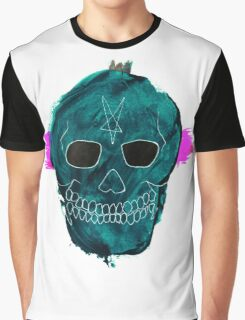 Cool Skull Graphic T-Shirt