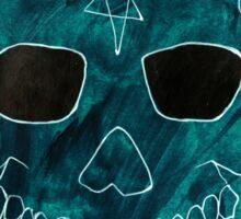 Cool Skull Sticker