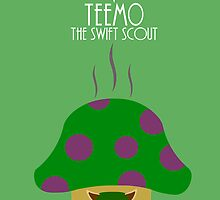 League of legends - Teemo the swift scout by Nundei