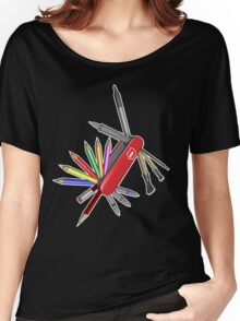 Pocket Art Women's Relaxed Fit T-Shirt