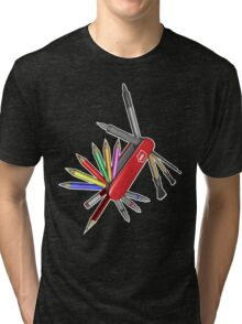 Pocket Art Tri-blend T-Shirt