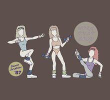 Work That Body Dance Aerobics Baby Tee