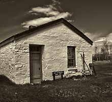 Ft. Bridger's Old Guardhouse 1868 - 1887 by Brenton Cooper