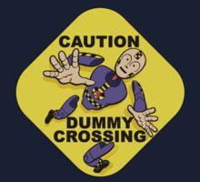 Crash Test Dummies - Caution Dummy Crossing - Purple Dummy Kids Clothes