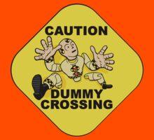 Crash Test Dummies - Caution Dummy Crossing - Yellow Dummy Kids Clothes