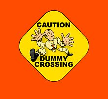 Crash Test Dummies - Caution Dummy Crossing - Yellow Dummy Unisex T-Shirt