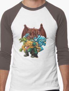 Extreme Dinosaurs - Group Men's Baseball ¾ T-Shirt