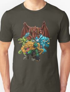 Extreme Dinosaurs - Group T-Shirt