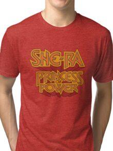 She-Ra Princess of Power - Logo - Color Tri-blend T-Shirt
