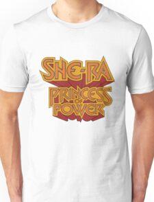She-Ra Princess of Power - Logo - Color Unisex T-Shirt