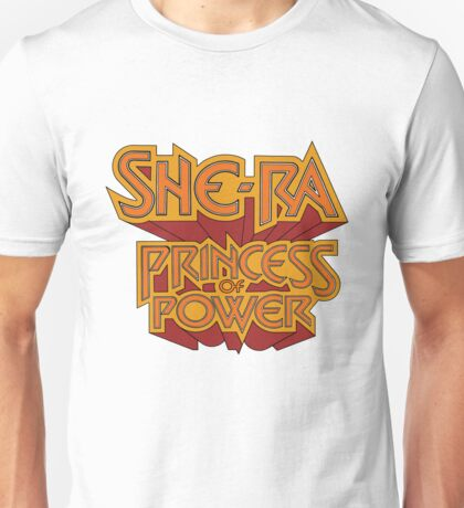 She-Ra Princess of Power - Logo - Color Unisex T-Shirt