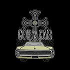 God's car for Iphone and Samsung cases by Patricia Van Lubeck