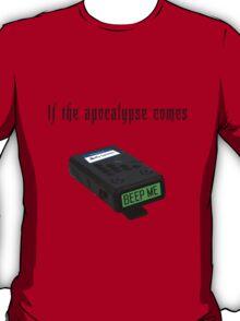 "Buffy the Vampire Slayer - ""Beep me"" T-Shirt"