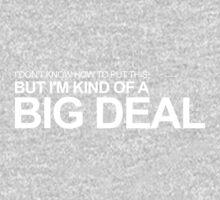 Anchorman - Ron Burgundy - I'm Kind of a Big Deal Kids Tee
