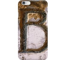 B iPhone Case/Skin