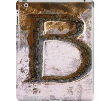 B iPad Case/Skin