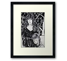 These Ashes, the Word Framed Print