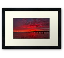 """""""A New Day, A New Year"""" Framed Print"""