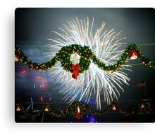 Boom Goes Christmas Canvas Print