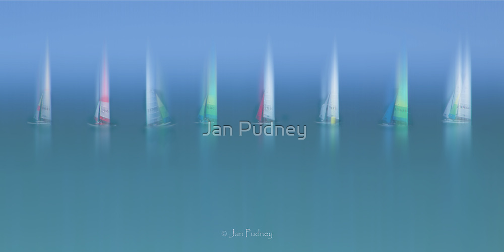 Sailing 2 by Jan Pudney