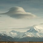 Lower Tasman Valley New Zealand - Lenticular clouds by James  Harvie