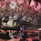 Sydney lights up! by Kymbo