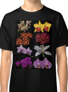 Orchid Collage TShirt Classic T-Shirt